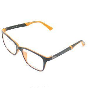 On Deck Oval Style Matte Black/Orange Frame